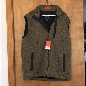 NWT Brown Outdoor Vest